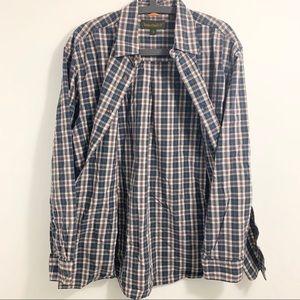 TIMBERLAND   Plaid Flannel Shirt